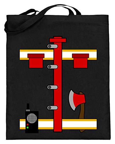 SPIRITSHIRTSHOP walkietalkie, zenderontvanger, zendontvanger, zendontvanger, zendontvanger, bijl, hak - jute zak (met lange handvatten)