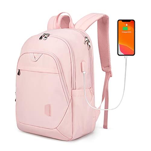 BAGSMART Backpacks for Men College Backpack 15.6'' Laptop Travel Back Pack with USB Charging Port Computer Bag Work Business College High School