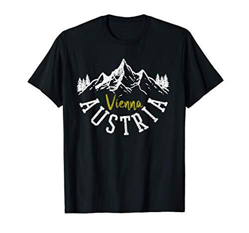 Wien Österreich - Vienna Austria Berge Alpen Souvenir T-Shirt