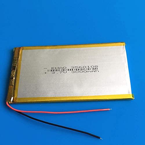 Respaldo de batería de Alto Rendimiento 3.7V 3000mAh Lipo Polímero Células de batería Recargables de Litio 3560108