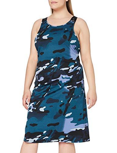 G-STAR RAW line Dungaree Allover, Faze Blue Multi Camo C387-c398, L para Mujer