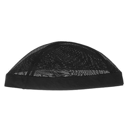 SM SunniMix Élastique Cheveux Cap Costume Mesh Net Faire Perruques Spandex Snood Filet À Cheveux Noir