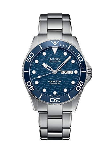 Mido Herren Automatik-Taucheruhr Ocean Star 200C Blau M042.430.11.041.00