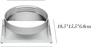 Angmile Aire acondicionado portátil Cuerpo Conducto de escape Interfaz ABS Inicio Aire acondicionado Piezas Tubo de escape Conector Accesorios para el hogar