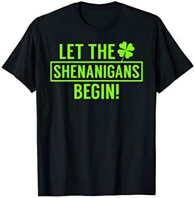 Saint Patricks Shenanigans T Shirt product image