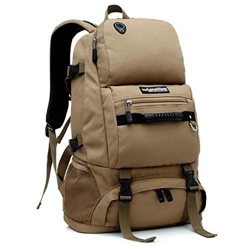 """""""N/A"""" Sports Backpack 40l Backpack Outdoor Backpack Backpack Outdoor Hiking Backpacking 卡其色"""
