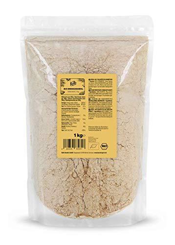 KoRo - Farine de cacahuète bio 1 kg - Naturelle, sans gluten, partiellement déshuilée, vegan, low carb