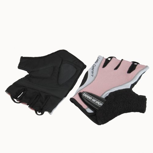 Profex Damen Fahrrad- Handschuh, L/ XL(weiss/schwarz)