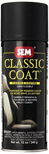 SEM 17503 Limo Flat Black Classic Coat - 12 oz.