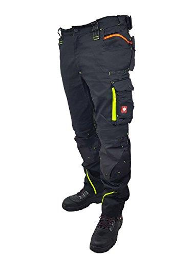 Engelbert Strauss esMotion 2020 Work Trousers Warning Yellow (60)