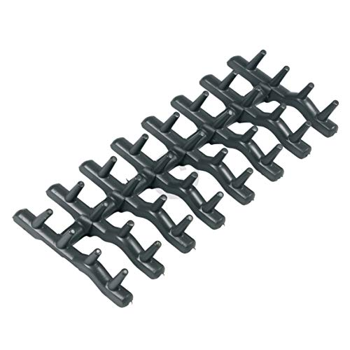 DL-pro Parte superior para AEG Electrolux Ikea Faure Arthur Martin 138018410/9 1380184109 138018410 espinas de goma para lavavajillas