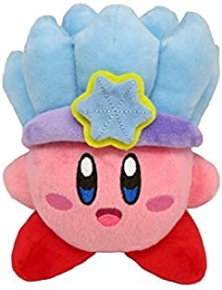 Sanei Japan Stuffed Toys - Kirby of All Star Collection Ice Kirby Stuffed Height 14cm KP10AF27