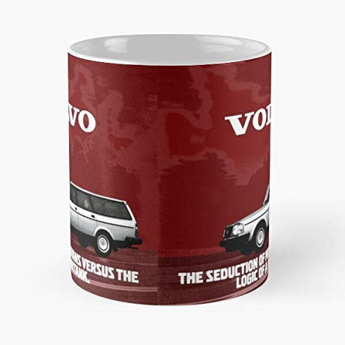 240 Wagon Volvo Estate 245 Brake 200 244 Shooting Best Mug holds hand 11oz made from White marble ceramic