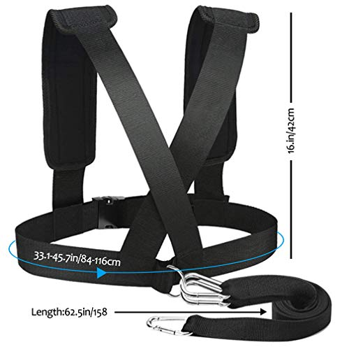 Popsport Sports Training Weighted Sled