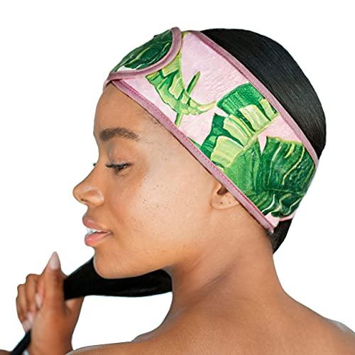 Kitsch Spa - Fascia per capelli, foglie di palma, foglie di palma