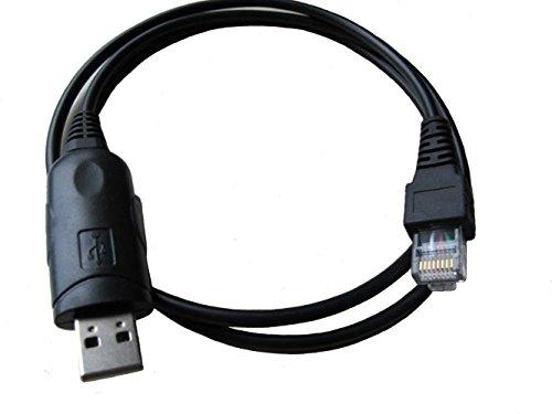 bestkong USB Programming Cable for Vertex Radio CT-104 VX-1000 VX-2000 VX-2100 VX-2200 VX-2250 VX-2500 VXR-1000 VXR-5000 VXR-7000 VXR-9000