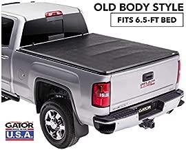 Gator ETX Soft Tri-Fold Truck Bed Tonneau Cover | 59110 | Fits 2014 - 2018, 2019 Ltd/Lgcy Chevy/GMC Silverado/Sierra 1500 6'6