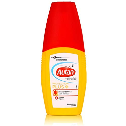 Autan Protection Plus Zeckenschutz Pumpspray 100 ml