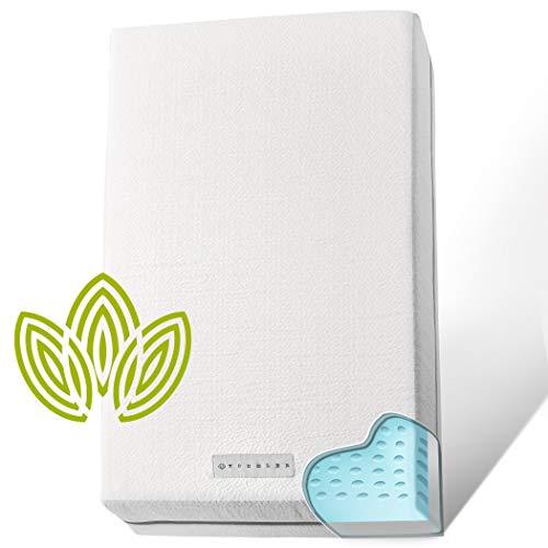 Organic Cotton Dual-Sided Crib Mattress   2-in-1 Reversible Baby Mattress