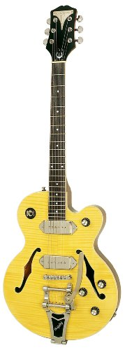 Epiphone Wildkat ETBKANCB1 - Guitarra eléctrica, color antique natural