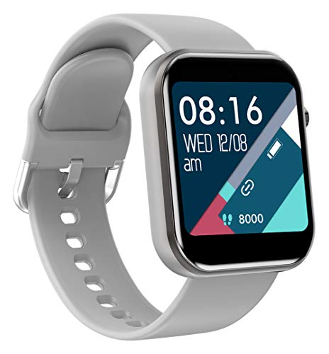 Smart Watch for Android iOS Fitness Tracker Heart Rate Monitor Waterproof Activity Tracker Blood Pressure Pedometer Step Calories Message Reminder Bluetooth Watch for Women Men Black Pink White