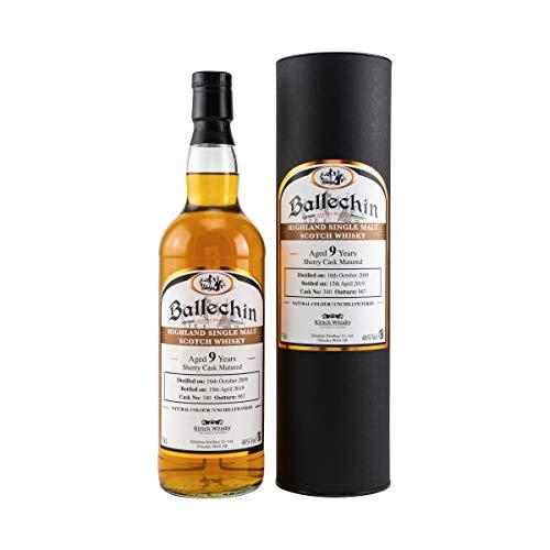 Edradour Ballechin 2009 SHERRY CASK Heavily Peated Single Cask Malt Whisky (1x0,7l)