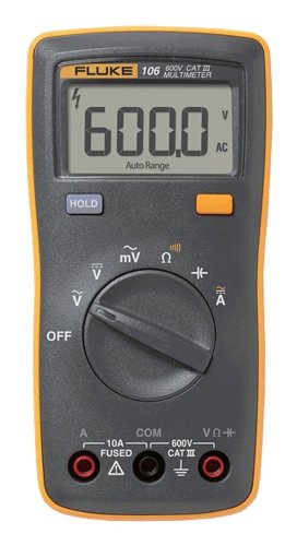 FLUKE-106 Palm-Sized Digital Multimeter