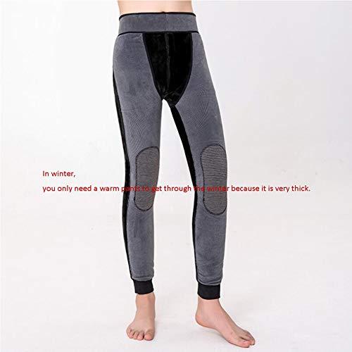 ZVHUK Winter Männer Und Frauen Baumwollhosen Graphen Warme Hosen Boden EIN Hosen Lange Hosen Hot Pants Tragen Strumpfhosen,800(g)