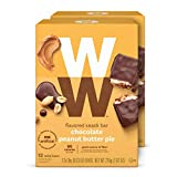 WW Chocolate Peanut Butter Pie Mini Bar - Kosher, 2 SmartPoints - 2 Boxes (24 Count Total) - Weight Watchers Reimagined
