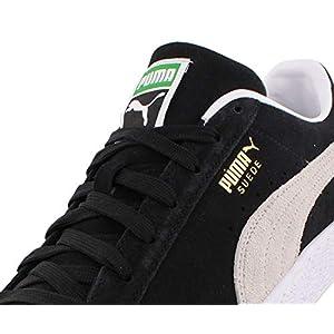 PUMA Suede Classic XXI Mens Shoes Size 11.5, Color: Black/White