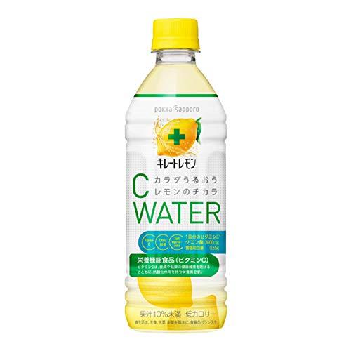 キレートレモン Cウォーター 500ml×24本 PET