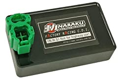 Naraku Performance No-Rev Limit CDI for D/C Kymco and SYM 4-Stroke Scooters. Compatible with the following models that use a 6 pin D/C CDI. Kymco Agility 50 and 125, Sento 50, People S 50, Vitality 50 4T, Yager GT 50SYM Allo 50, Fiddle 2 50, Jet 4, O...