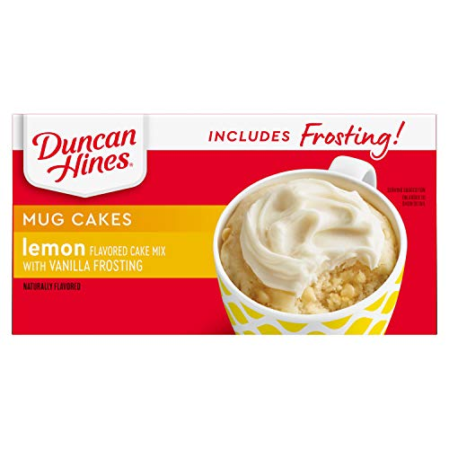 4-Count 2.2oz Duncan Hines Mug Cakes  $1.74 at Amazon