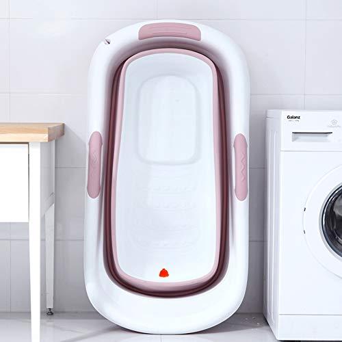 CHICTI Tragbar Faltbar Badewanne, Erwachsene Plastikbadewanne Tragbare Kinderbadewanne, Kinderwanne Badewannen Eisbad Warmes Bad