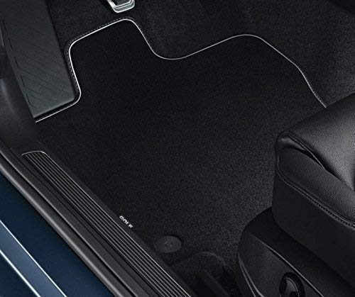 VW Golf 7 Fußmatten, Velours, PREMIUM Original VW Zubehör, vorn+hinten