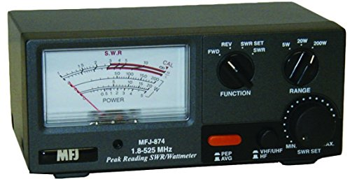 RF Power & SWR meter for 1.8-525Mhz - HF / VHF / UHF 200W. Buy it now for 144.88