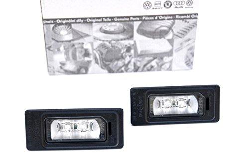 NUOVO. Luce targa Audi originale A1 8X A4 8K A5 8T A6 4G A7 Q5 8R TT 8J Audi illuminazione per luce targa a LED 4G0943021 S-Line
