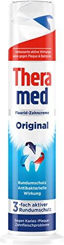 Theramed Zahncreme Spender Original, mit antibakterieller Wirkung, 1er Pack (1 x 100 ml)