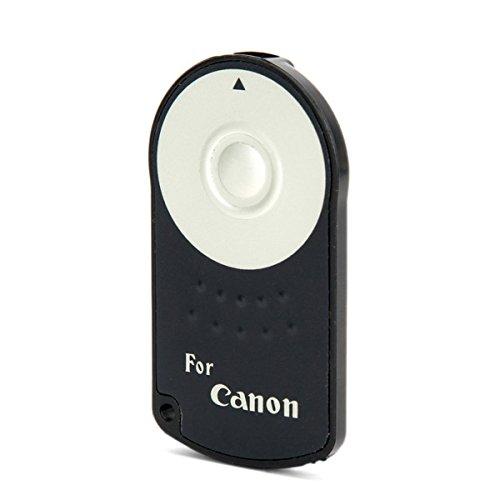 MASUNN Fototech RC-6 IR Inalámbrico Disparador Remoto para Cámara DSLR Canon