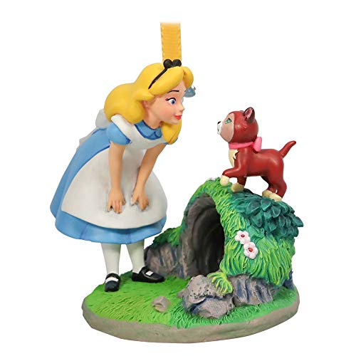 Disney Alice and Dinah Sketchbook Ornament – Alice in Wonderland