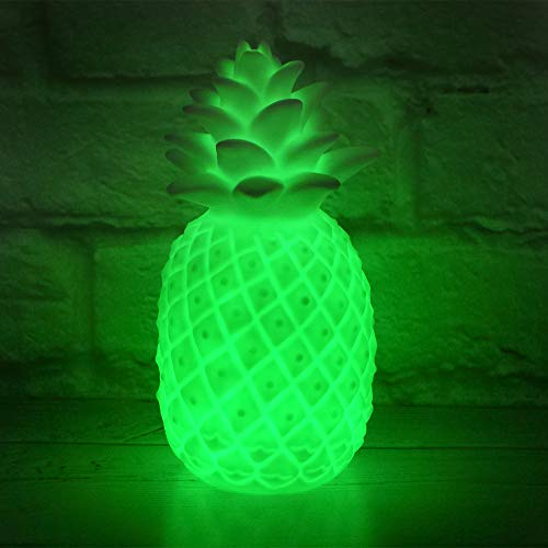 The Glowhouse - Stimmungslicht in Ananas-Form - beleuchtete Dekoration für Tische & Schlafzimmer - wechselnde Farben