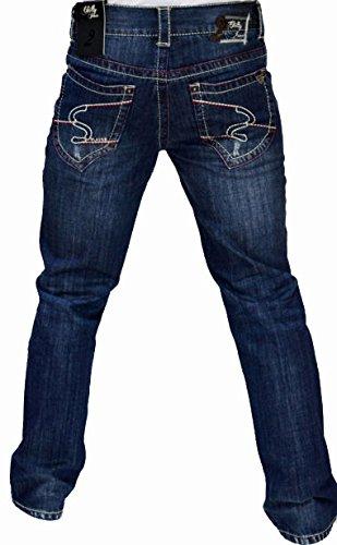 2Chilly Jeans Sunset Island Camp Slim Straight donkerblauw David donkerblauw Final Sale Uitverkoop