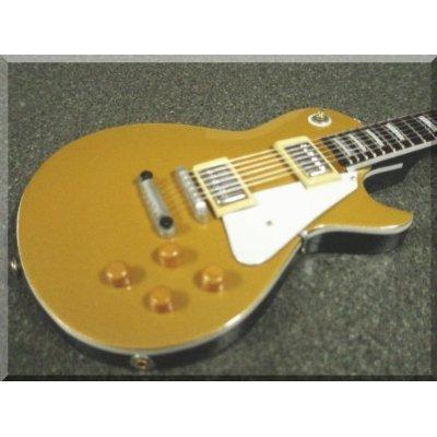 GIBSON Gold Top Miniatur Gitarre Les Paul