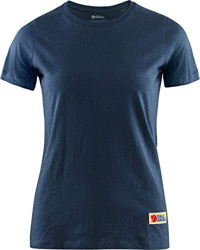 FJÄLLRÄVEN Vardag T-Shirt Women, S, Navy