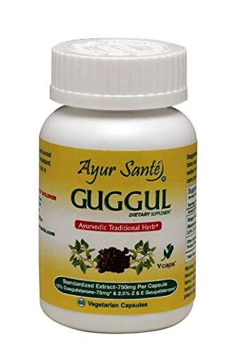 Guggul-Extract 750mg Per Cap(10% Guggulsterone-75mg* and 2.5% Z&E Guggulsterone-18.75mg*) 60 Veg Caps