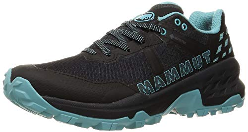 Mammut Damen Sertig II Low GTX Traillaufschuh, Black-Dark Frosty, 36 2/3 EU