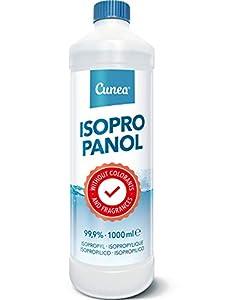 Alcohol Isopropilico 99,9% Isopropanol Limpieza IPA - 1 litro Limpiador de desengrasante 1000ml