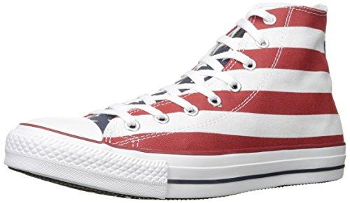 Converse Stars & Bars Hi, Sneaker Donna, Bianco, Taglia 40