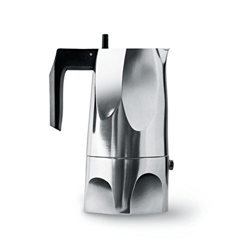 Lowest Prices! Alessi Ossidiana Espresso Coffee Maker (3 Cup)