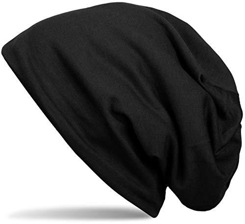 styleBREAKER Klassische Einfarbige Unisex Beanie Mütze mit inliegendem Fleece Stoff, gefüttert 04024008,...